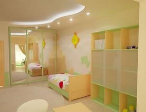 Эргономический интерьер детской комнаты