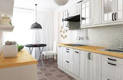 Скандинавский стиль в кухонном интерьере
